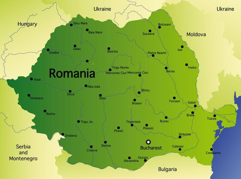 מדהים רומניה Romania - מדריך טיולים ברומניה CC-02